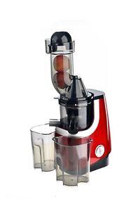 VitaSpeed-Entsafter-Vertikal-Saftpresse-Extraktor-Zitruspresse-Slowjuicer-BPA-FR