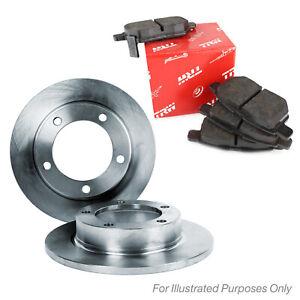 Rear Brake Pads Brake Discs Full Axle Set 278mm Solid Fits Opel Zafira B 2.0