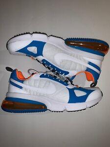 Nike Air Max 270 Futura Men S Shoes Blue White Orange Size 10 New