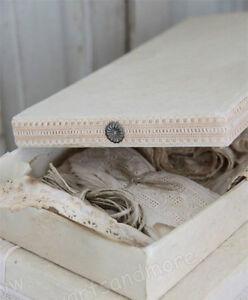 Jeanne-d-Arc-Schachtel-Box-Aufbewahrungsbox-Nostalgie-Brocante-Shabby-33-cm