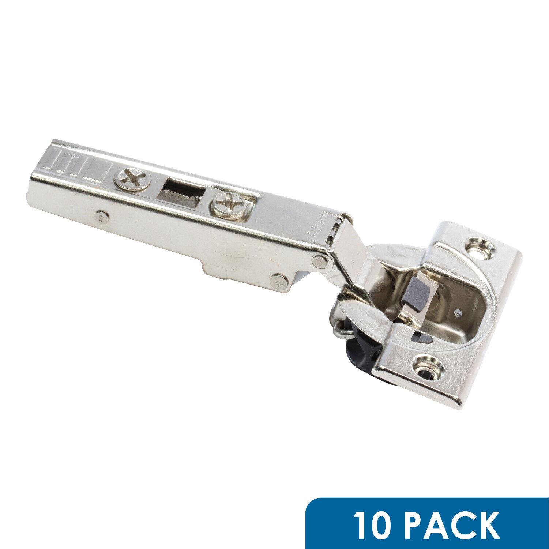 10 Blaum 110 Deg Straight Arm Clip Top Cabinet Hinge Soft Close Screw on 71B3550