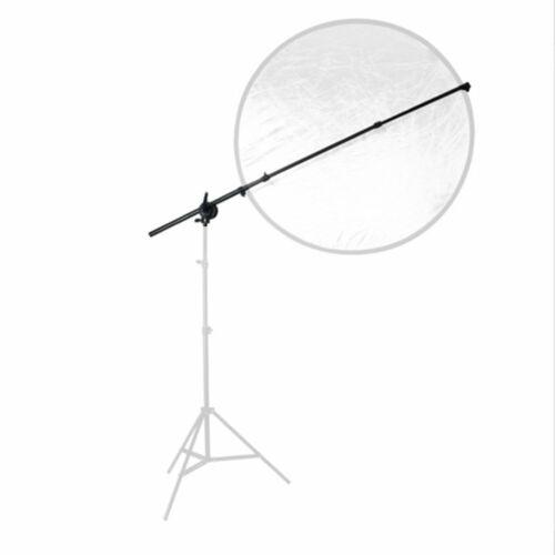 Godox 3M Light Stand Studio Photo Light Backdrop Reflector Disc Boom Arm Holder
