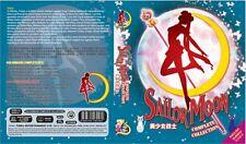 DVD ENGLISH DUB Sailor Moon Complete Collection Season 1-6 + 3 Movie +free anime
