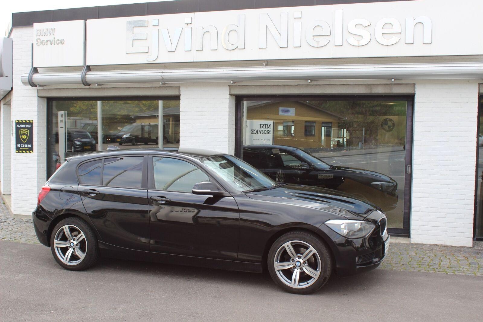 BMW 118d 2,0  5d - 119.900 kr.