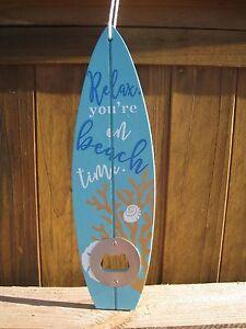 ... Flaschenoeffner 034 Surfbrett 034 Tuerkis Kronkorken Sommer Strand