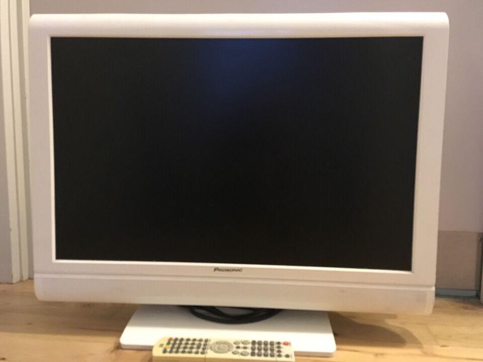 """LCD, Prosonic, 22"""" med integreret DVD"""
