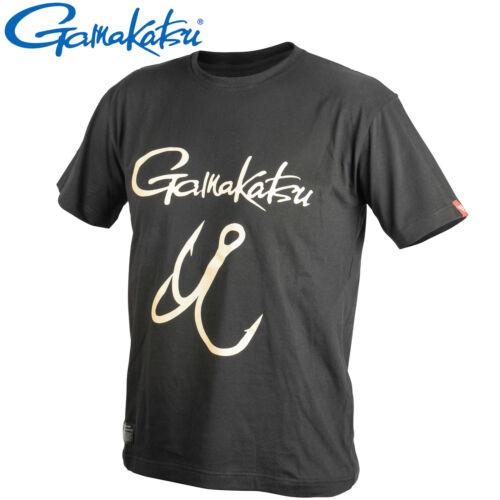 Gamakatsu T-Shirt Treble Hook LG Shirt für Angler Angelbekleidung Tshirt