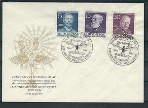 Berlin FDC des mi. Nº 92-96-99-afficher le titre d`origine MzSVBBR9-07165056-234778353