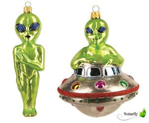 Lustige Weihnachtskugeln.Details Zu Lustige Christbaumkugeln Figuren Ufo Weihnachtskugeln Weihnachtsbaumschmuck Glas