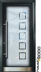 aluminium haust r glas t r alu haust ren nach ma mod ht 5485 gla nach ma ebay. Black Bedroom Furniture Sets. Home Design Ideas