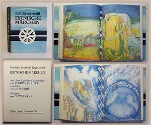 Kreutzwald-Estnische-Maerchen-Illustriert-von-Peeter-Ulas-1981-Estland-Sagen-xz