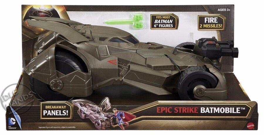 Batman v Superman Dawn of Justice Epic Strike Batmobile Vehicle Toy Car New Fun