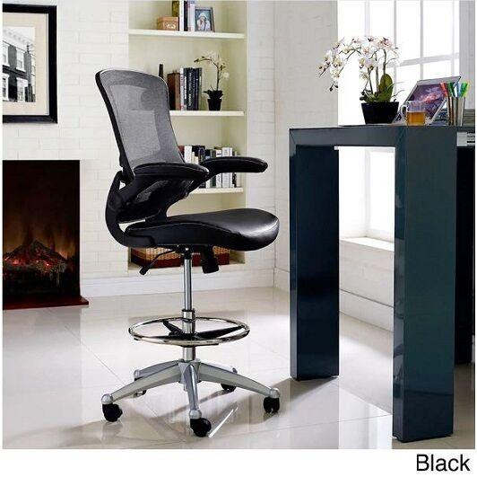 Stupendous Drafting Table Chair Adjustable Counter Height Ergonomic Stool Office Furniture Inzonedesignstudio Interior Chair Design Inzonedesignstudiocom