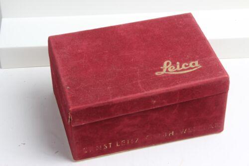 Leica Ernst Leitz GMBH WETZLAR LOOPN IIIf Box