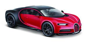 Maisto-1-24-Bugatti-Chiron-Sport-Diecast-Model-Racing-Car-Vehicle-Toy-New-in-Box