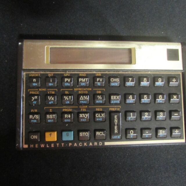 HP-16C 12C? Scientific Calculator (K9)