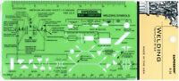 Berol Rapidesign Template - Welding - R-34
