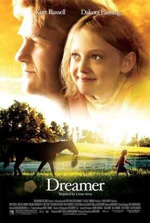 DREAMER Original 27x40 D//S movie poster DAKOTA FANNING
