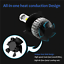 Car-Led-Headlight-Lamp-Bulb-High-Low-Beam-6000K-Light-Replacement-Bulbs-Head thumbnail 2