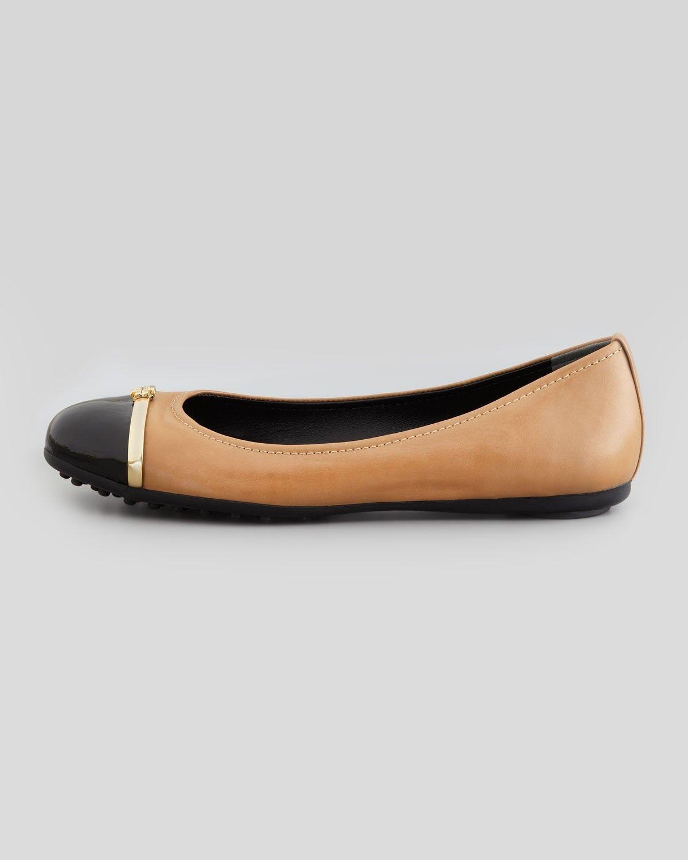 NIB Tory Burch Skimmer PACEY Ballet Ballet Ballet Flats shoes CLAY BEIGE 9 M 39 B 499011