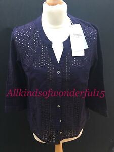Brand Tags With Indigo Isolde Blouse New Rrp£130 Pyrus aqgzFx