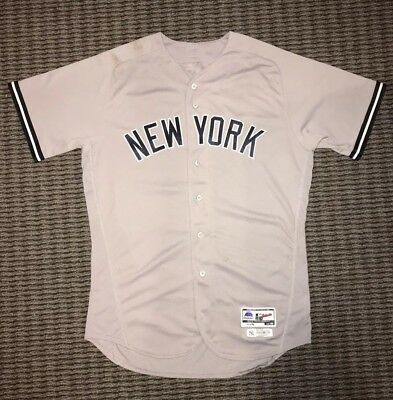 super popular 67253 2c95c Miguel Andujar New York Yankees Game Used Worn Jersey 2 HR's MLB  Authenticated | eBay