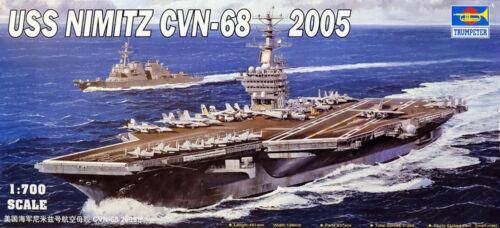 Trumpeter USS Nimitz CVN-68 2005 Fl 1:700 9365739 Trumpeter 05739 MESSEAKTION  X