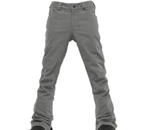 Burton Men TWC Denim Snowboard Pants (L) Flint