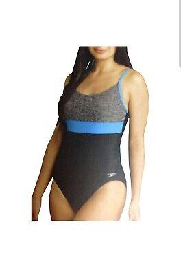 Speedo Women/'s Ultraback Racerback Athletic Training One Piece Swimsuit NWT