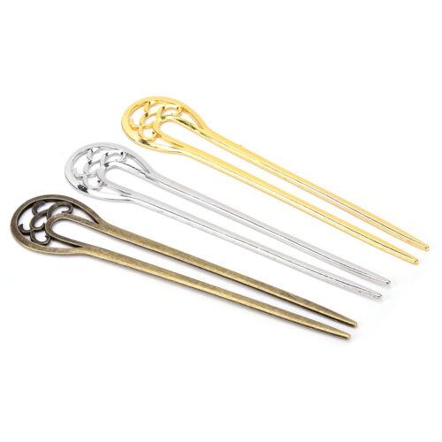 U-Form-Retro-Metall-Haar-Gabel-Haar-Pin-Haar-Auswahl-Quadrat-Haar-Klipp-Haar SHN