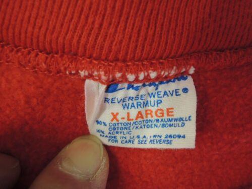 Vintage 1980s Champion Reverse Weave Sweatshirt Re