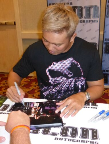 Kazuchika Okada Signed 8x10 Photo BAS Beckett COA New Japan Pro Wrestling NJPW 6