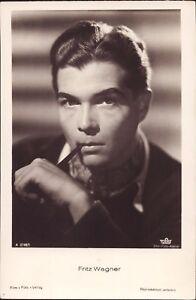 Fritz-Wagner-Film-Foto-Autogramm-AK-Starpostkarte-E-669