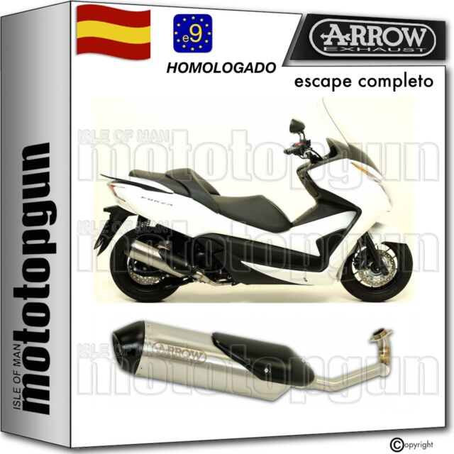 ARROW ESCAPE COMPLETO NOCAT HOMOLOGADO REFLEX 2 NICHROM HONDA FORZA 300 2014 14