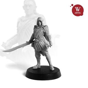 28mm-wargaming-and-collectible-miniature-Warrior-Elf-by-Artel-034-W-034