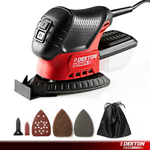 Deton Mini Mouse Compact Detail Sander with Dust Collection Bag Sanding Tool