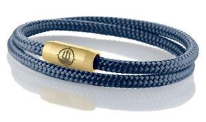 Seemannsgarn Maritimes Segeltau Armband Fohr Navy Blau 4mm Ebay