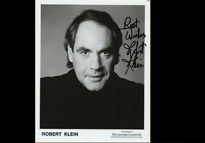Robert-Klein-famous-American-actor-amp-comedian-genuine-hand-signed-autograph