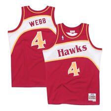 1c52daa7ea0 item 3 Spud Webb Atlanta Hawks 1986-87 Road Red Mitchell   Ness Swingman  Jersey -Spud Webb Atlanta Hawks 1986-87 Road Red Mitchell   Ness Swingman  Jersey