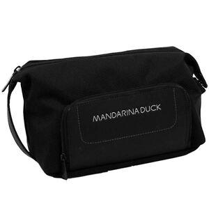 Aufrichtig Mandarina Duck File Kulturbeutel Kulturtasche Kosmetiktasche Etui Wählbar Neu Fortgeschrittene Technologie üBernehmen Damen-accessoires Kulturbeutel