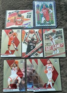 2019-2020-Panini-Mosaic-Rockets-Lot-9-Russell-Westbrook-Stained-Glass-Prizm