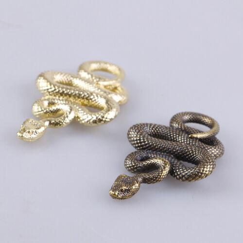Various Styles Brass Snake Key Ring Outdoor Copper Snake Car Hanging UKHC