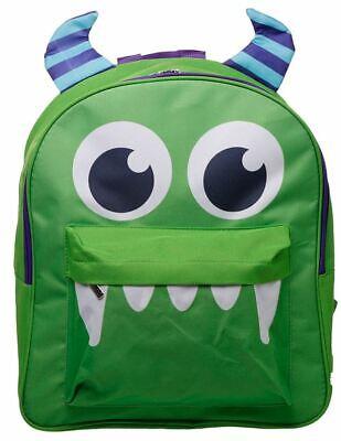 Luminosa Funky Monstarz Monster Design Zaino Zaino Borsa Scuola Per Bambini-mostra Il Titolo Originale Qualità Eccellente