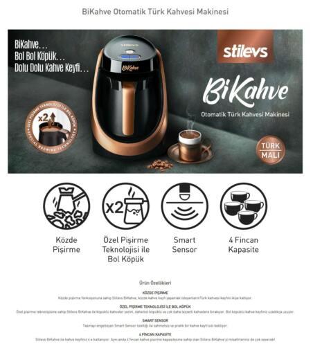 Stilevs BiKahveTurkish Coffee Machine