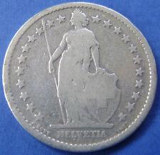 Zwitserland - Switzerland - 2 francs 1879 B - KM# 21