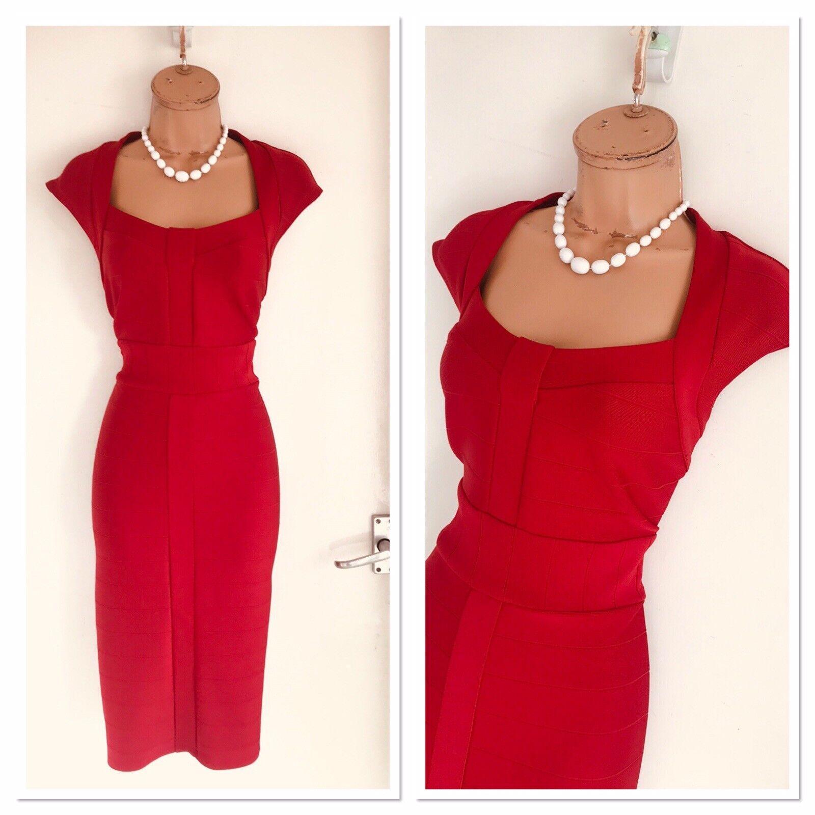 Vestido  Ceñido Elástico FRANK LYMAN Rojo 16  barato