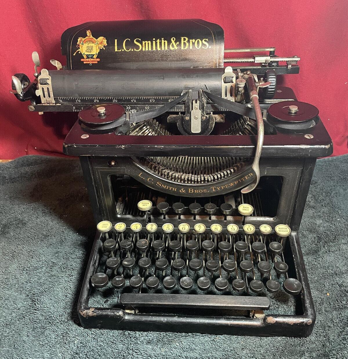 L.C. Smith & Bros. No. 8