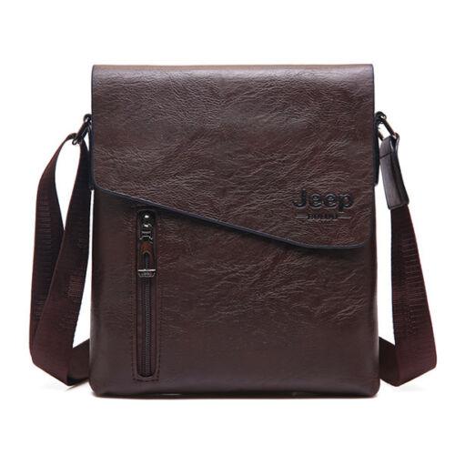 Male Tote Bag Shoulder Leather Messenger Bag Men Fashion Crossbody Travel Bags