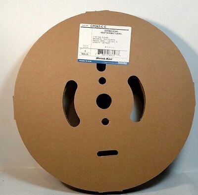 """Shrink-Kon Heat Shrink Tubing Clear - 1//2/""""x4/'"""