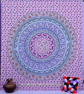 Hippie Indian Mandala Tapestry Wall Hanging Tapestries Throw Queen Bedspread